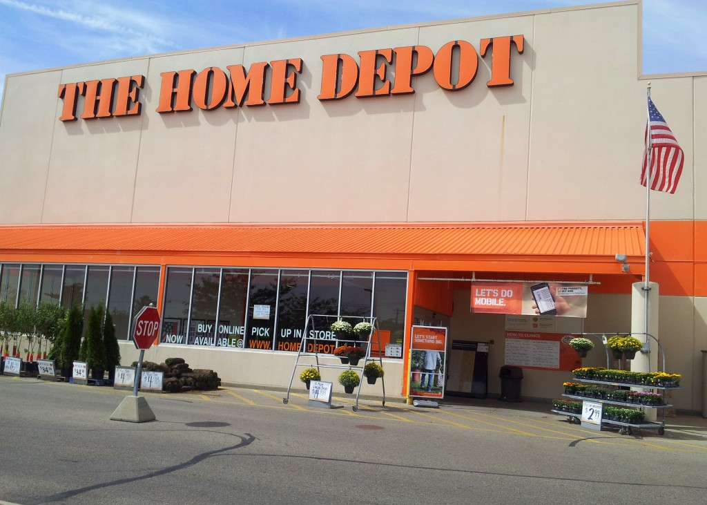 Home depot store numbers list home depot security breach for Shop home depot